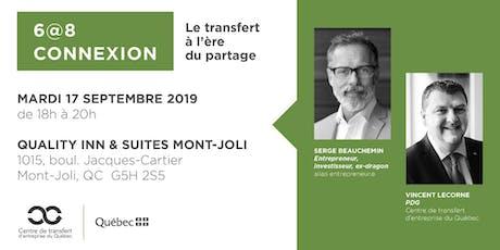 Les Rdv du repreneuriat - 6@8 Connexion au Bas-St-Laurent tickets