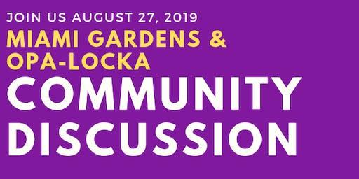 Census Community Discussion - Miami Gardens/Opa-Locka