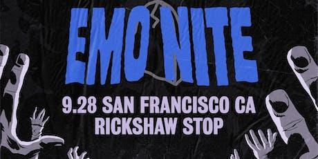 EMO NITE at RICKSHAW STOP tickets
