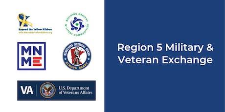 Region 5 Military and Veteran Exchange tickets
