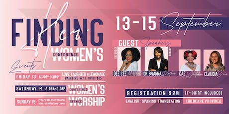 Resurrection Church - Finding Her Women's Conference tickets