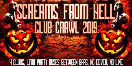 Halloween Club Crawl 2019 TorontoHalloween Events tickets