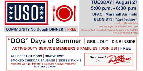 COMMUNITY No Dough DINNER | AUGUST 27 tickets