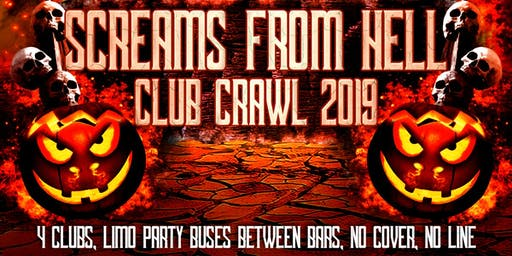 Halloween Pub Crawl 2019: Screams From Hell Toronto Party Crawl Event