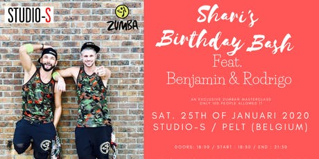 Shari's Birthday Bash feat. Benjamin & Rodrigo tickets