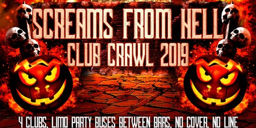 Halloween Party Crawl 2019 in Toronto: Screams From Hell