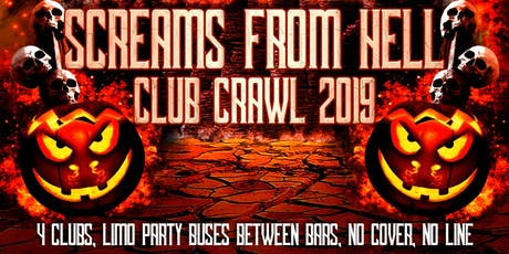 Screams From Hell Toronto Halloween Costume Pub/Club Crawl Party Event 2019 tickets