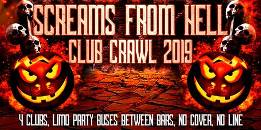 Screams From Hell Toronto Halloween Costume Pub/Club Crawl Party Event 2019