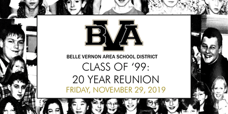 Belle Vernon Area Class of '99: 20 Year Reunion tickets