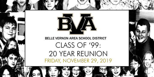 Belle Vernon Area Class of '99: 20 Year Reunion