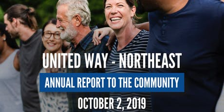 27th Annual United Way-Northeast Report to the Community tickets