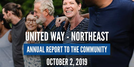 27th Annual United Way-Northeast Report to the Community