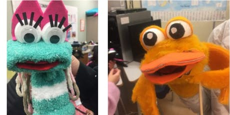 Sock Puppets with Kellie Haines at the Children's Art Festival tickets