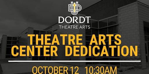 Theatre Arts Center Dedication