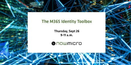 The M365 Identity Toolbox tickets