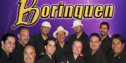 SALSA SATURDAYS  with Live Music by BORINQUEN!