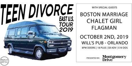 TEEN DIVORCE with Boston Marriage, Chalet Girl, and Flagman tickets