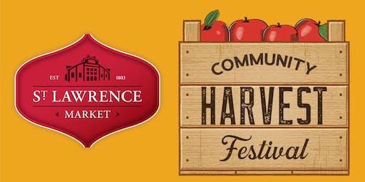 St. Lawrence Market Community Harvest Festival