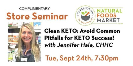 Clean KETO! Avoid Common Pitfalls for KETO Success! tickets