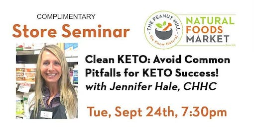 Clean KETO! Avoid Common Pitfalls for KETO Success!