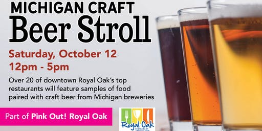 2019 Michigan Craft Beer Stroll
