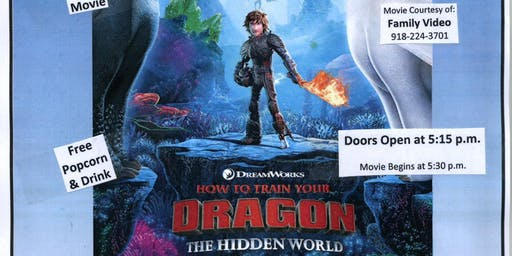 Free Movie Night @ The Library - How To Train Your Dragon: The Hidden World