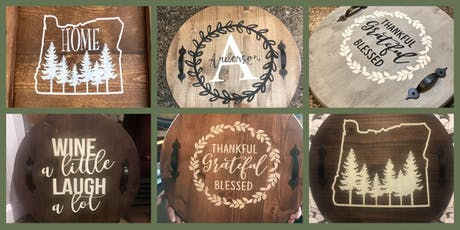Wood Tray Workshop at Chateau Bianca Winery  tickets