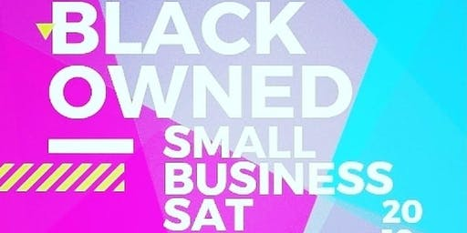 Black Owned Small Business Sat ATL November 2, 2019
