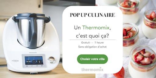 Pop-up! culinaire Thermomix® GRATUIT// Montréal - COMPLET