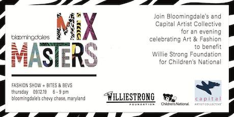 MixMasters:  Celebrating Art & Fashion to #CrackCancer tickets
