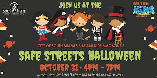 Spooktacular Safe Streets Halloween Party