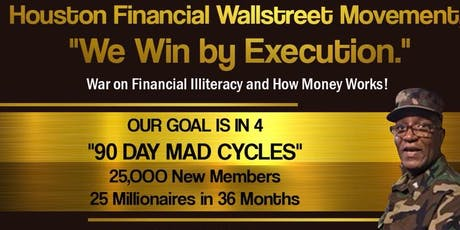 Houston Wallstreet Movement - Webinar Workshop tickets