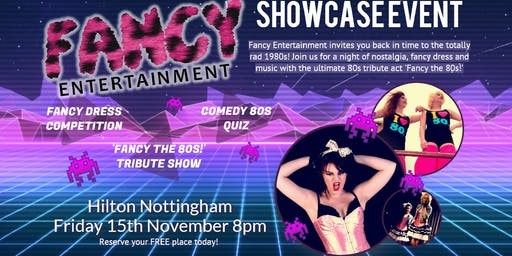 Fancy Entertainment - 80s Showcase Night!