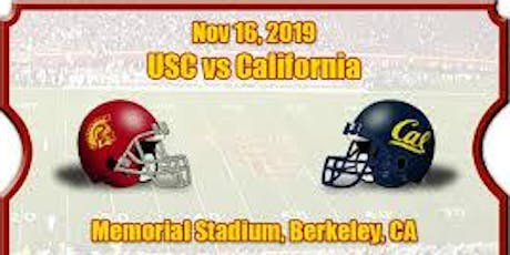 USC vs Cal Game Watch tickets