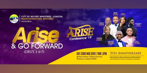 ARISE CONFERENCE 2019 (5th Year Anniversary)