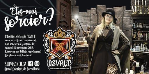 OSVALT - INSTITUT DE MAGIE - Samedi 16 novembre 2019