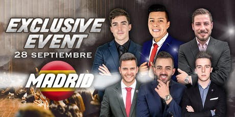 EXCLUSIVE EVENT MADRID tickets