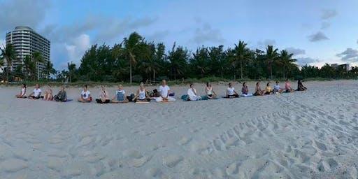 Sunrise Meditation and Gentle Hatha Yoga at the Beach