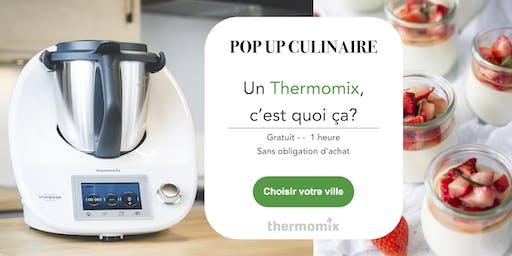 Pop-up! culinaire Thermomix® GRATUIT// Montréal