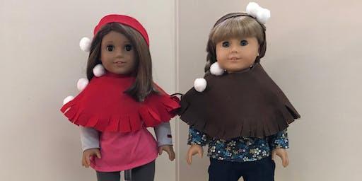 Doll Shawl and Headband Craft at Girl AGain