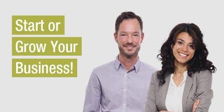 Jump Start Your Business & Financing Tips (Online Workshop) Fall 2019 tickets