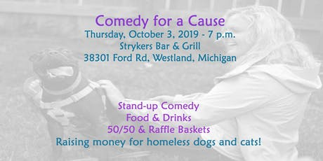 Comedy for a Cause: Raising Money for Homeless Pets tickets