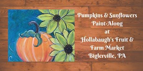 Pumpkin & Sunflowers - Hollabaugh Bros. Inc. Paint-Along tickets