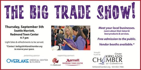 OneEastside Business Trade Show EXHIBITOR REGISTRATION tickets