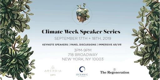 Oceanic Global x Arcadia Earth NYC Climate Week Speaker Series