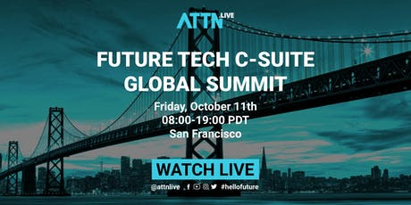Future Tech C-suite Global Summit tickets