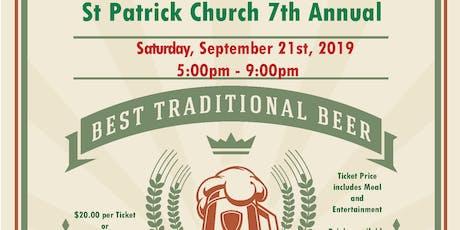 St. Patrick Church 7th Annual Oktoberfest tickets