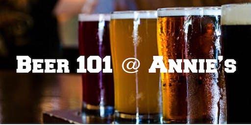 Beer 101 @ Annie's