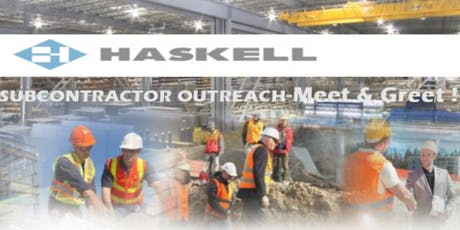 The Haskell Company Subcontracting Meet and Greet Event! tickets