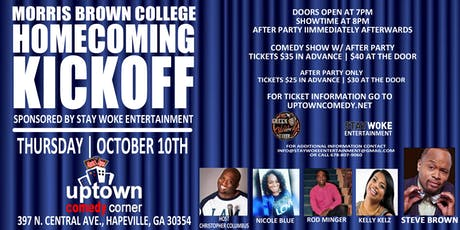 Morris Brown Homecoming - SPECIAL ENGAGEMENT tickets